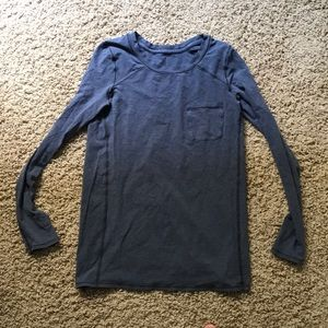 Lululemon grey long sleeve.